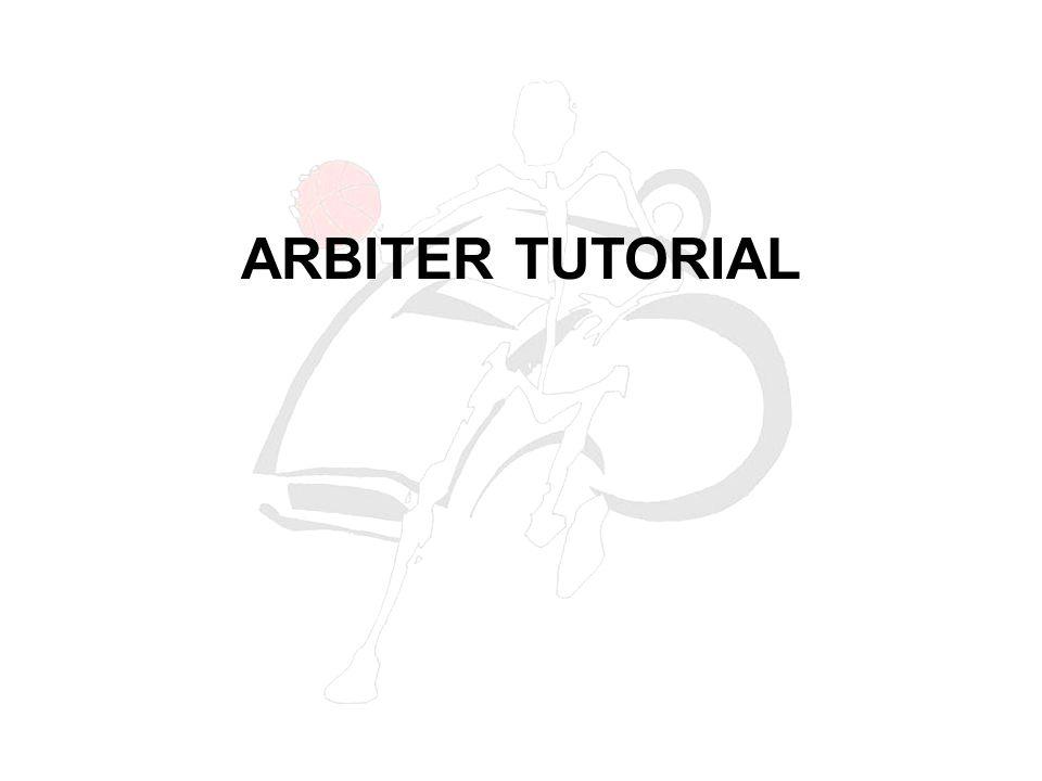 ARBITER TUTORIAL