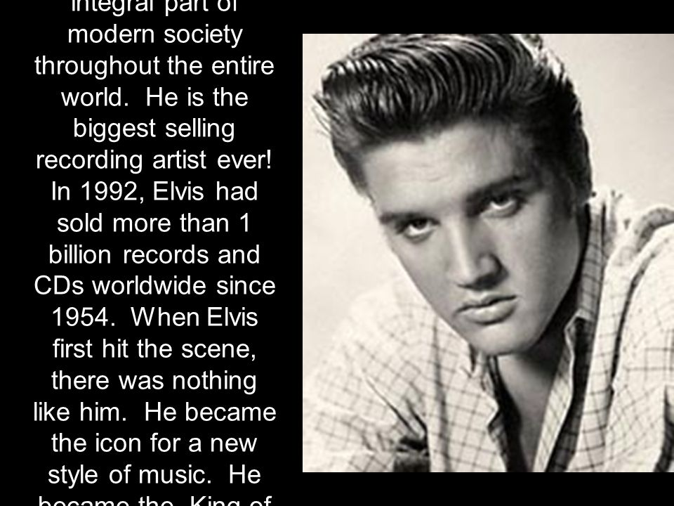 Elvis's first record with RCA, Heartbreak Hotel , quickly sold over a million copies, becoming Elvis' first gold record.