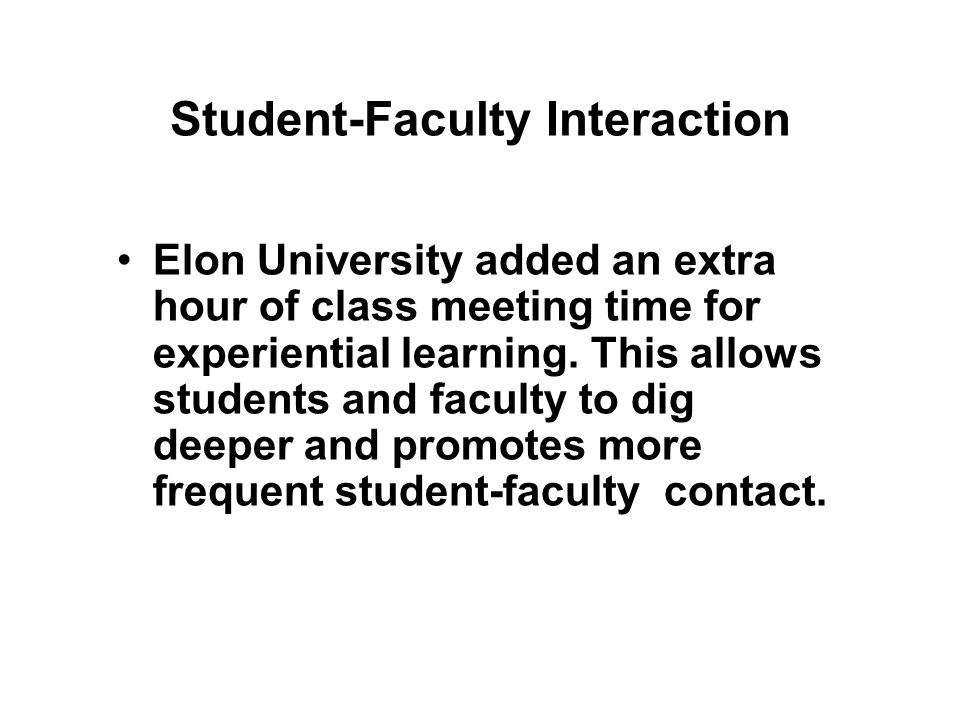 Active & Collaborative Learning Eckerd College developed Autumn Term, a month during which classes meet from 9 AM to noon, five days a week. Group pro