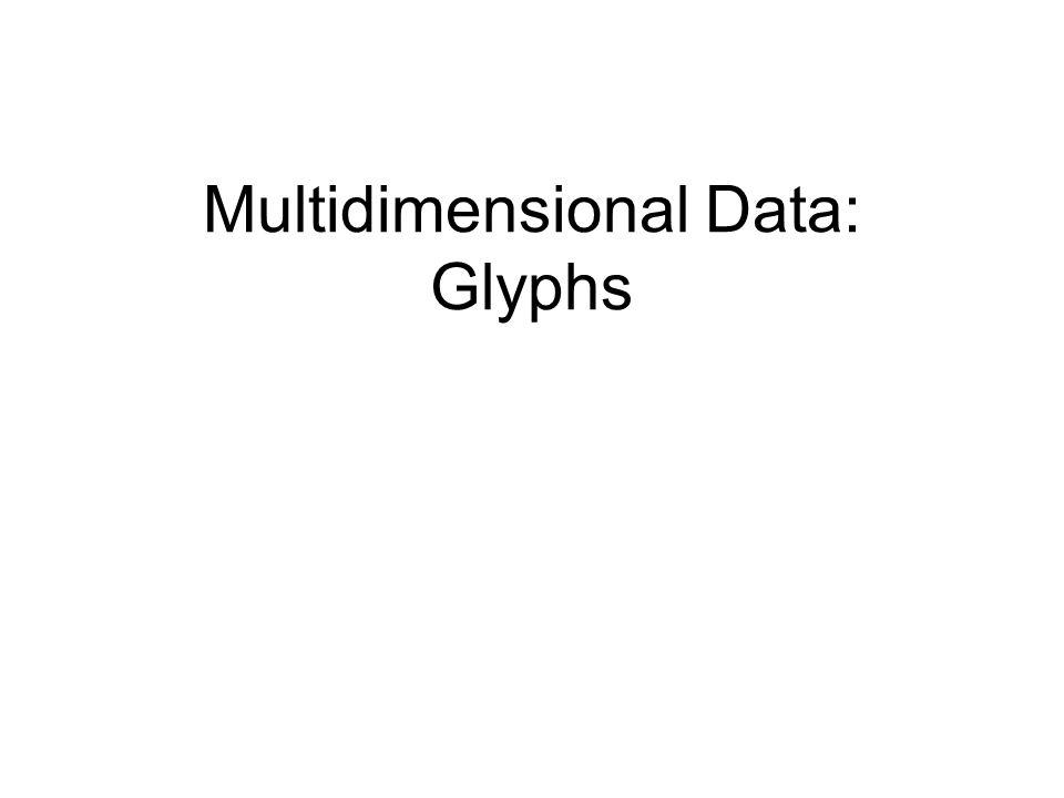 Multidimensional Data: Glyphs