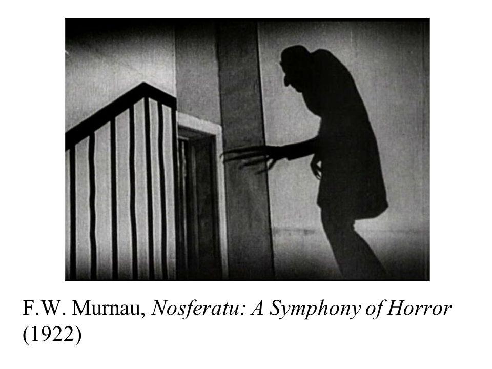 F.W. Murnau, Nosferatu: A Symphony of Horror (1922)