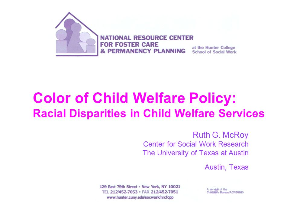1996  Child maltreatment reporting  Service provision  Kinship care  Family preservation —Inequities reported from Courtney
