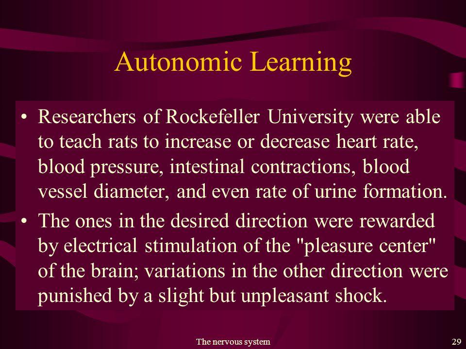 The nervous system28 Fig. 22.13