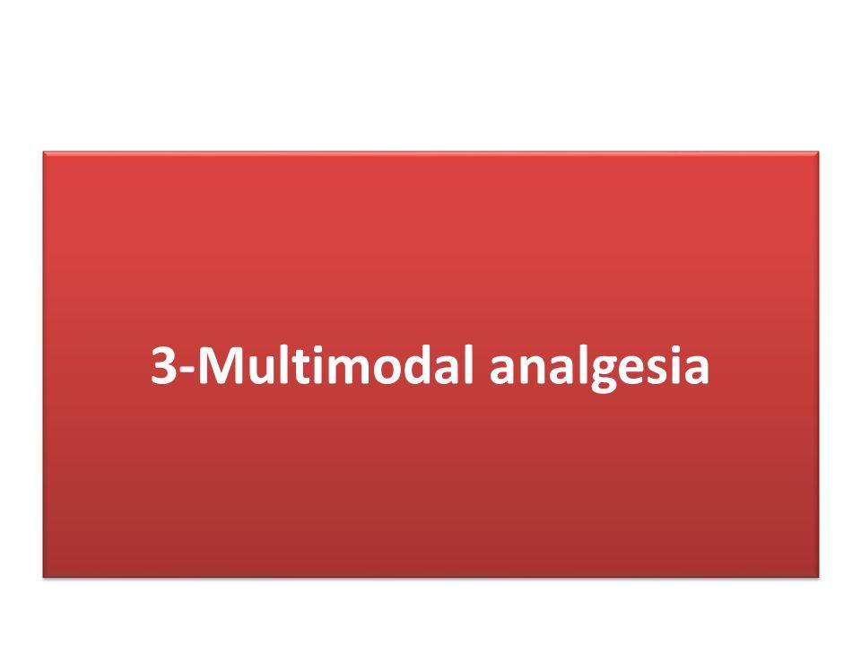 3-Multimodal analgesia