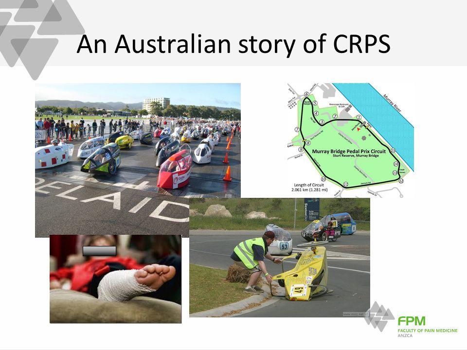 An Australian story of CRPS