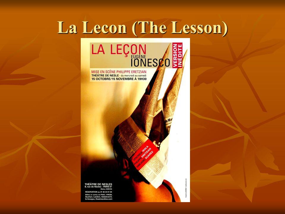 La Lecon (The Lesson)