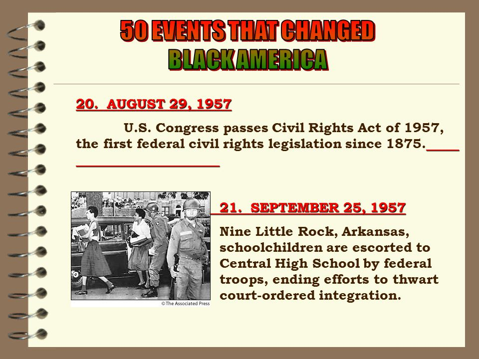 20.AUGUST 29, 1957 U.S.
