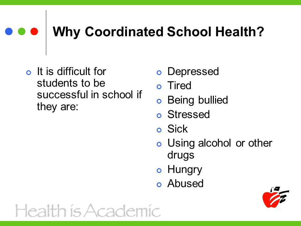 Why Coordinated School Health.