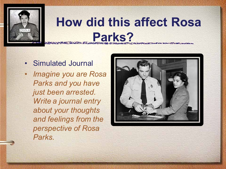 What questions do you have for Rosa Parks.