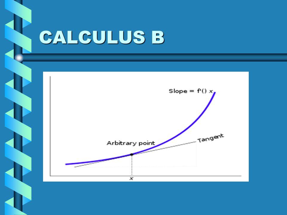 CALCULUS B