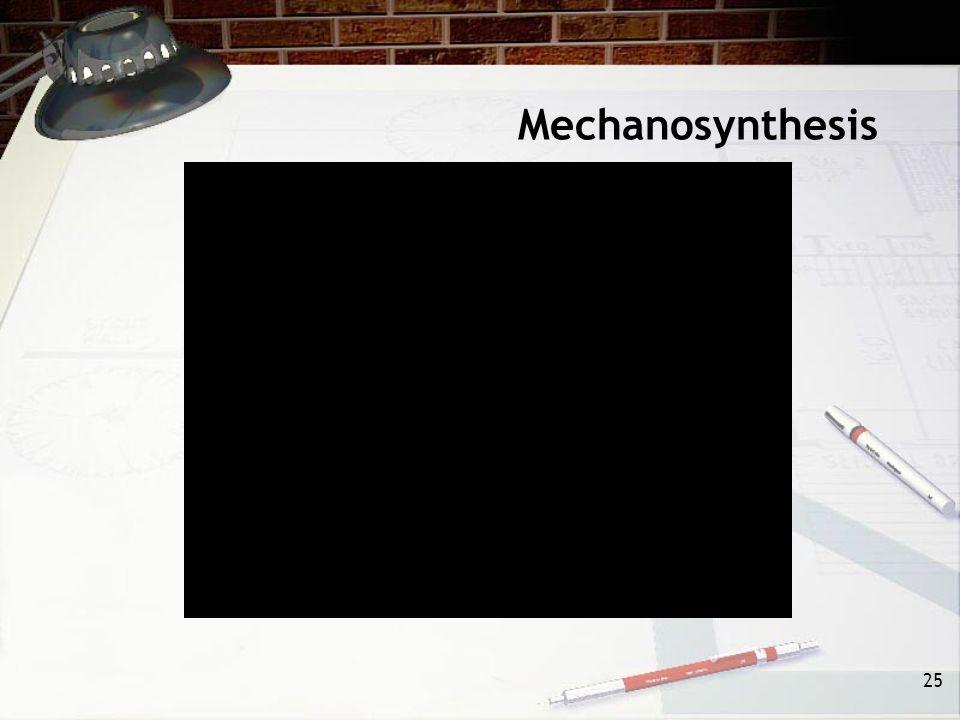 Mechanosynthesis 25