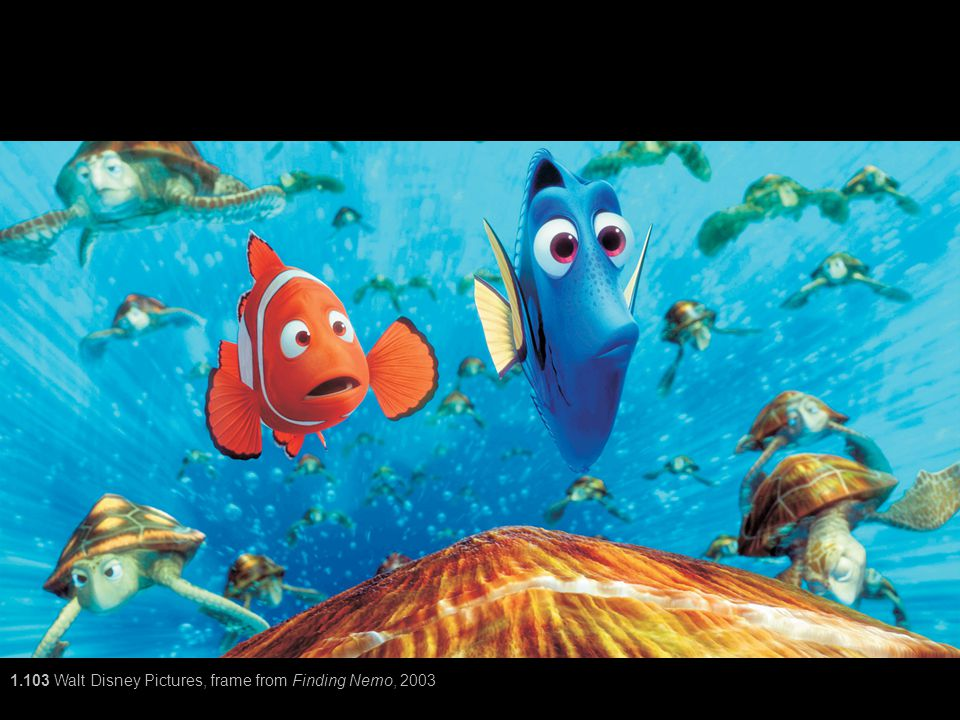 1.103 Walt Disney Pictures, frame from Finding Nemo, 2003
