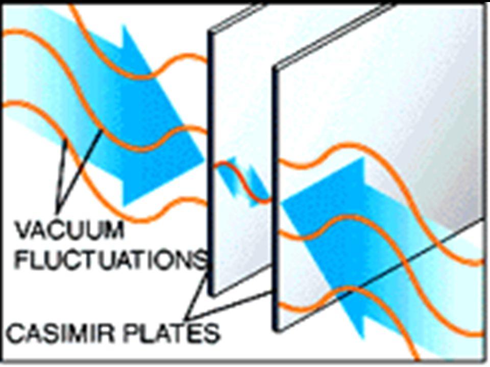Casimir effect -> DE