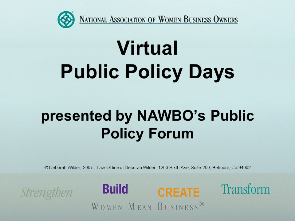 What is Virtual Public Policy Days.