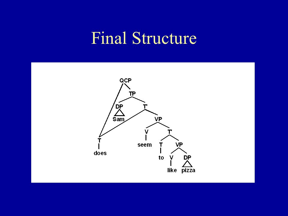 Final Structure