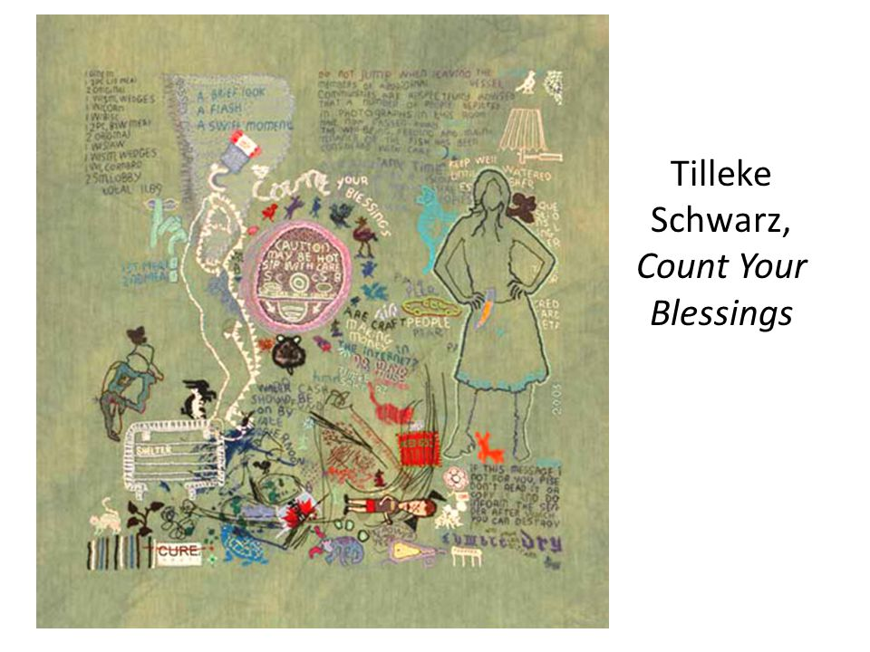 Tilleke Schwarz, Count Your Blessings