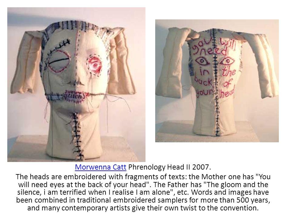 Morwenna CattMorwenna Catt Phrenology Head II 2007.
