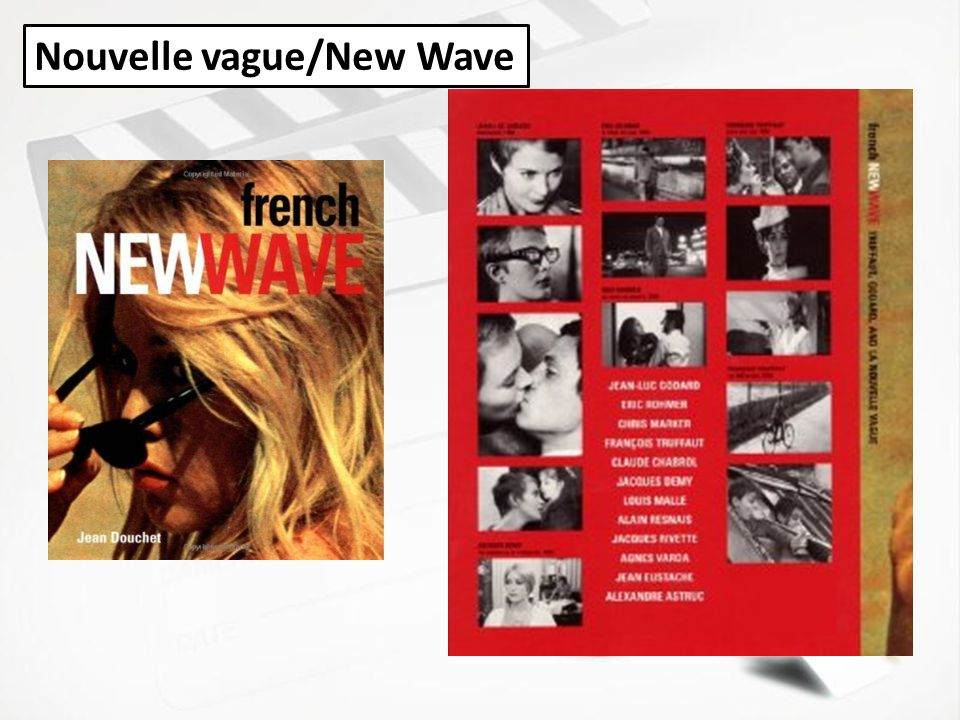 Nouvelle vague/New Wave