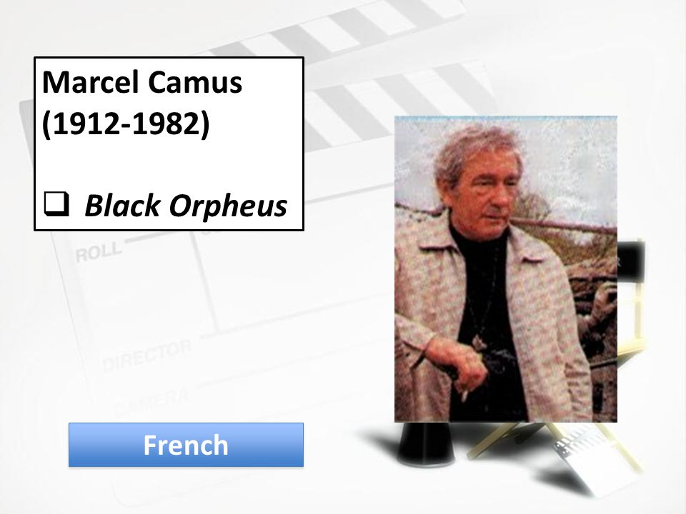 Marcel Camus (1912-1982)  Black Orpheus French