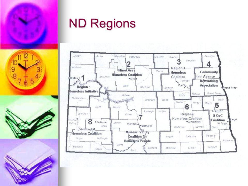 ND Regions