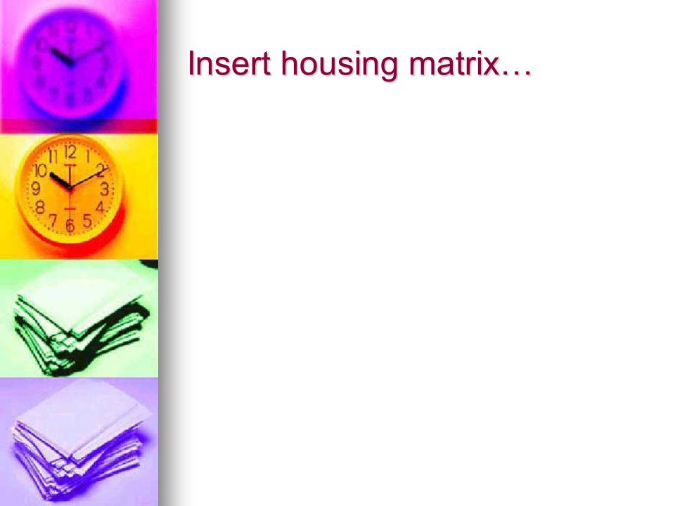 Insert housing matrix…