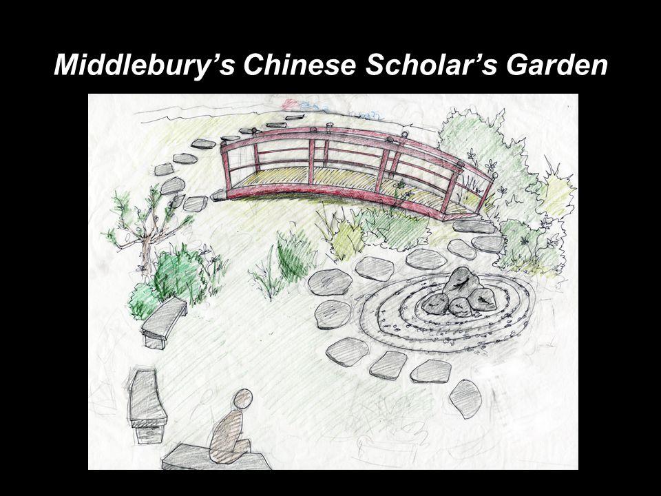 Middlebury's Chinese Scholar's Garden