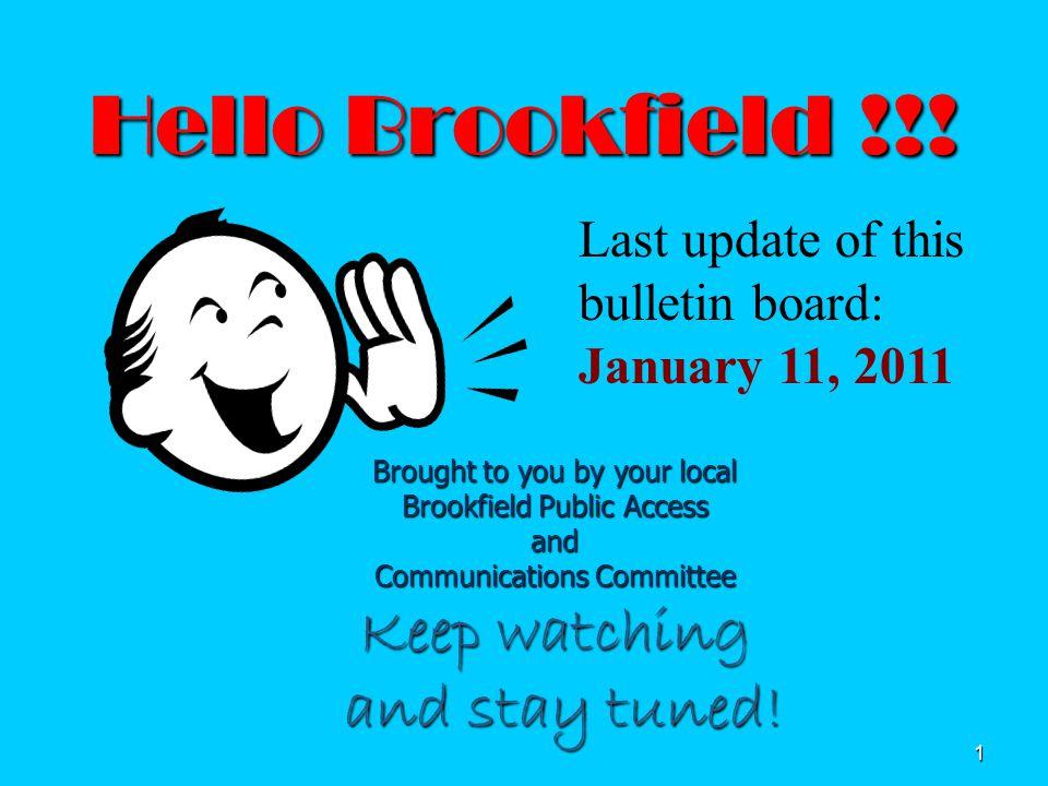 1 Hello Brookfield !!.