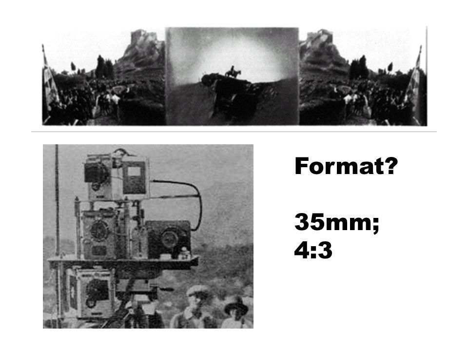 Format 35mm; 4:3