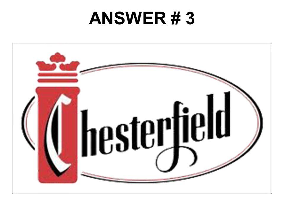 ANSWER # 3