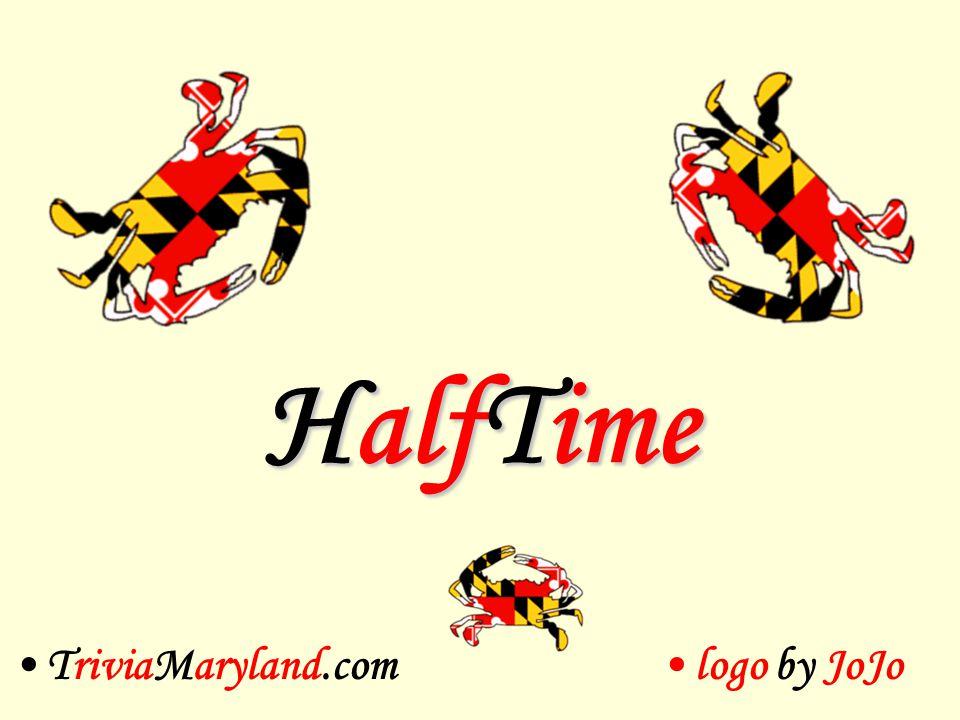 HalfTime TriviaMaryland.comlogo by JoJo