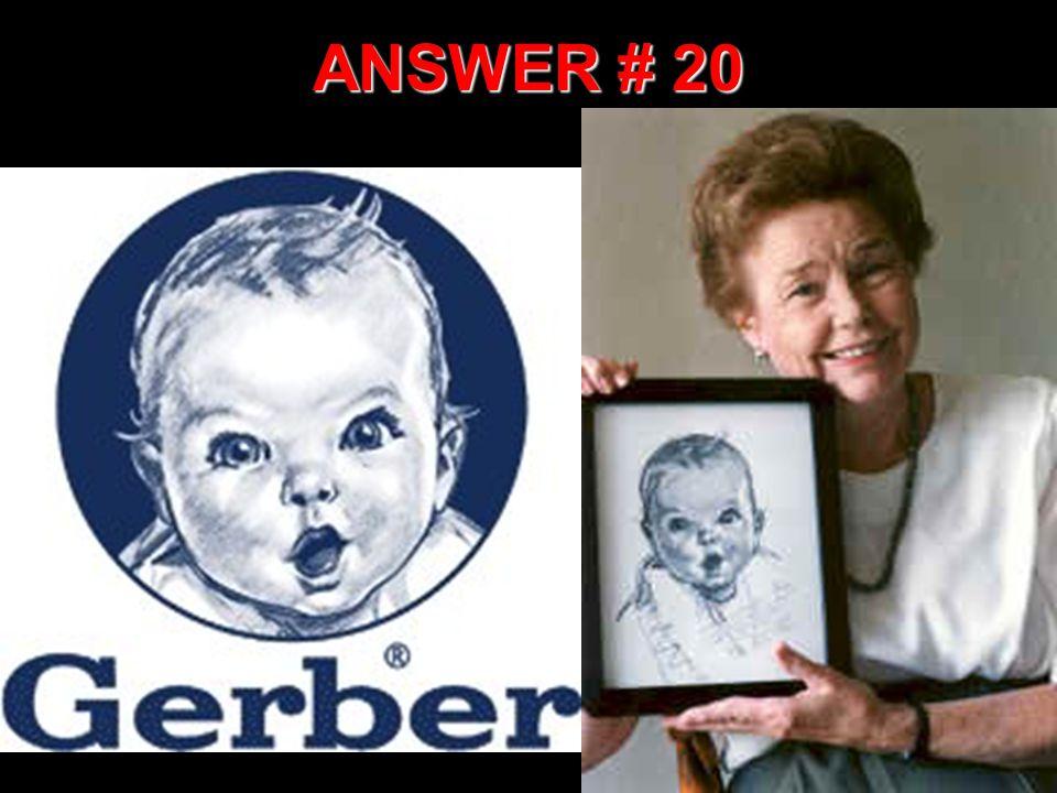 ANSWER # 20