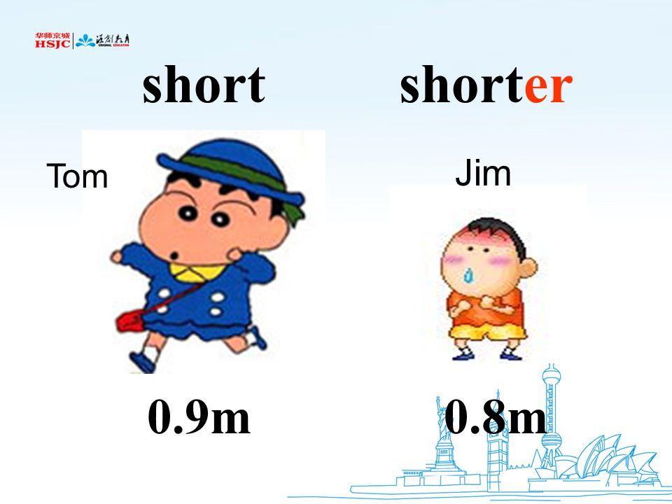 0.9m0.8m shortshorter Tom Jim