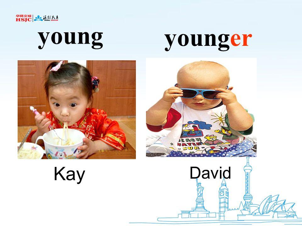 young younger Kay David
