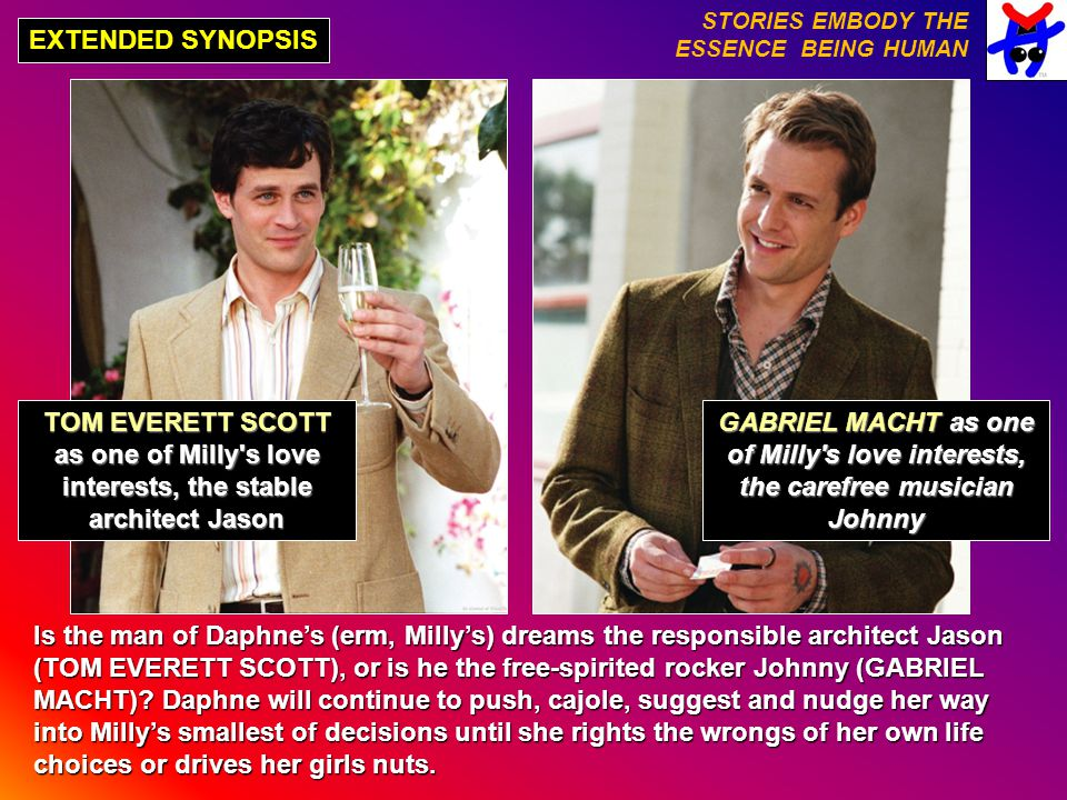 EXTENDED SYNOPSIS TOM EVERETT SCOTT as one of Milly's love interests, the stable architect Jason Is the man of Daphne's (erm, Milly's) dreams the resp