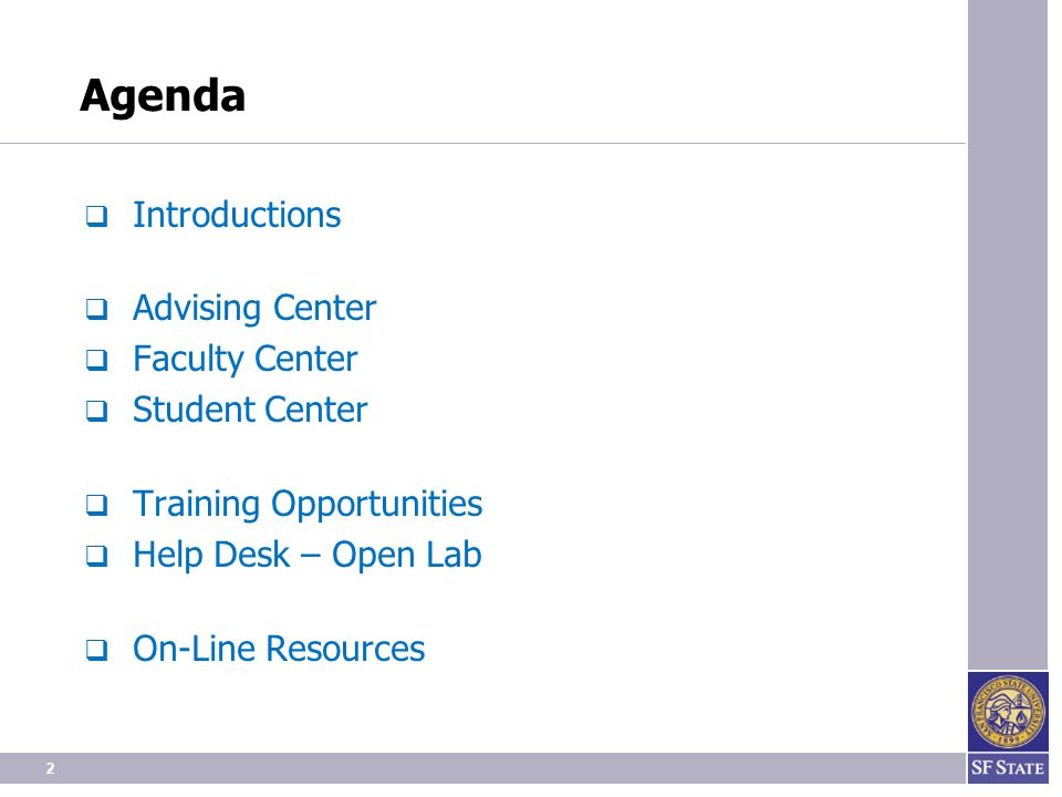 Training Opportunities Staff Faculty