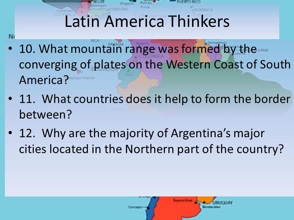 Latin America Thinkers 10.