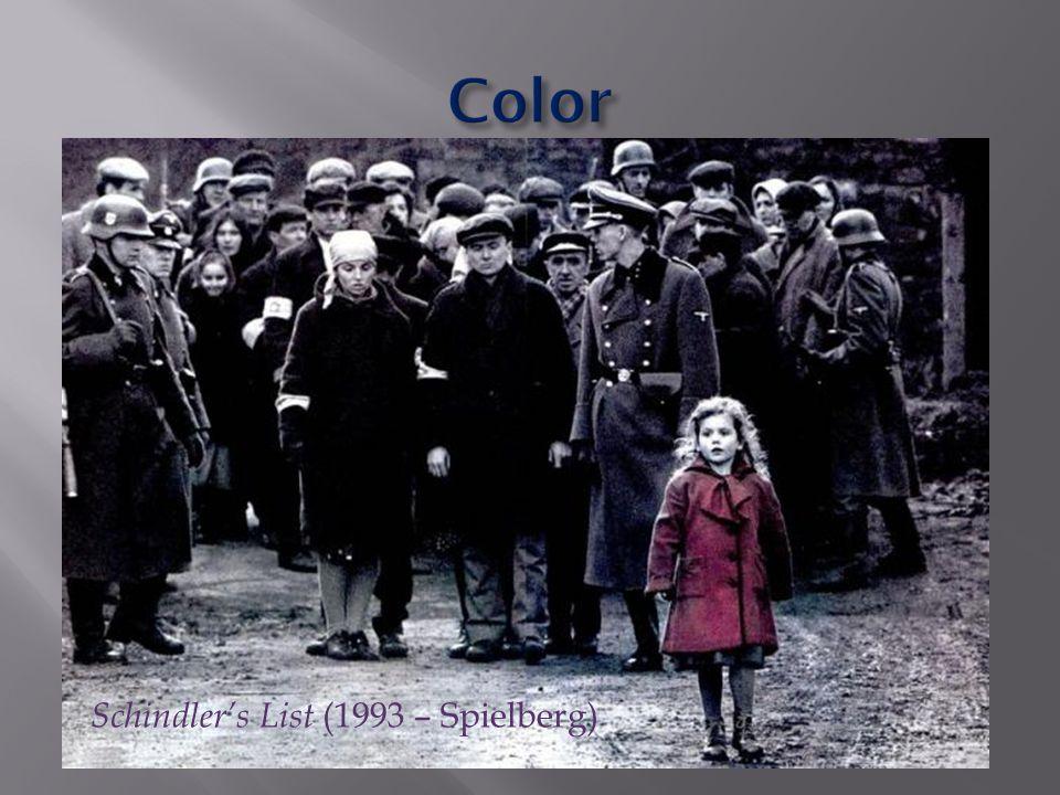 Schindler's List (1993 – Spielberg)