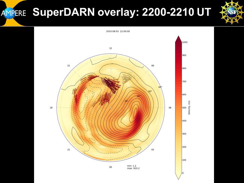 SuperDARN overlay: 2200-2210 UT