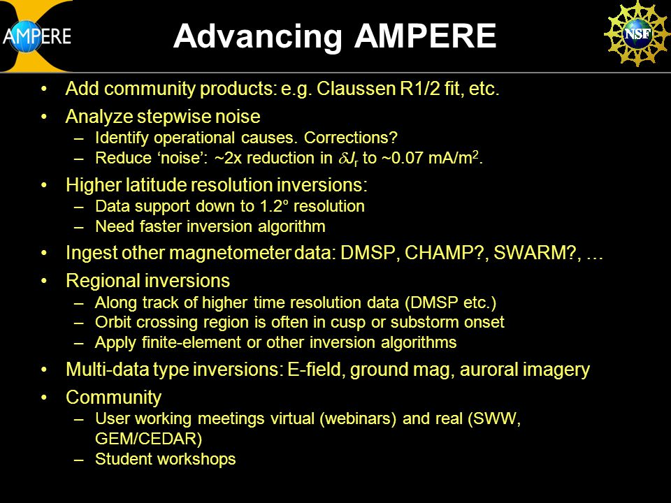 Advancing AMPERE Add community products: e.g. Claussen R1/2 fit, etc.