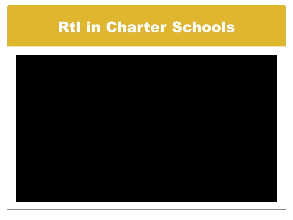 RtI in Charter Schools