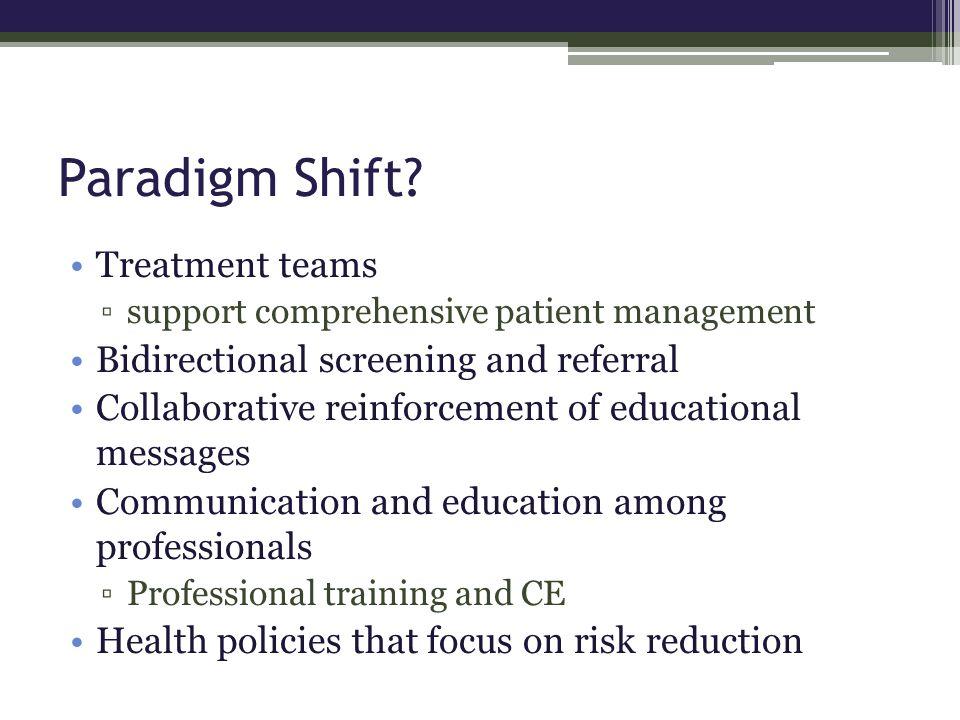 Paradigm Shift.