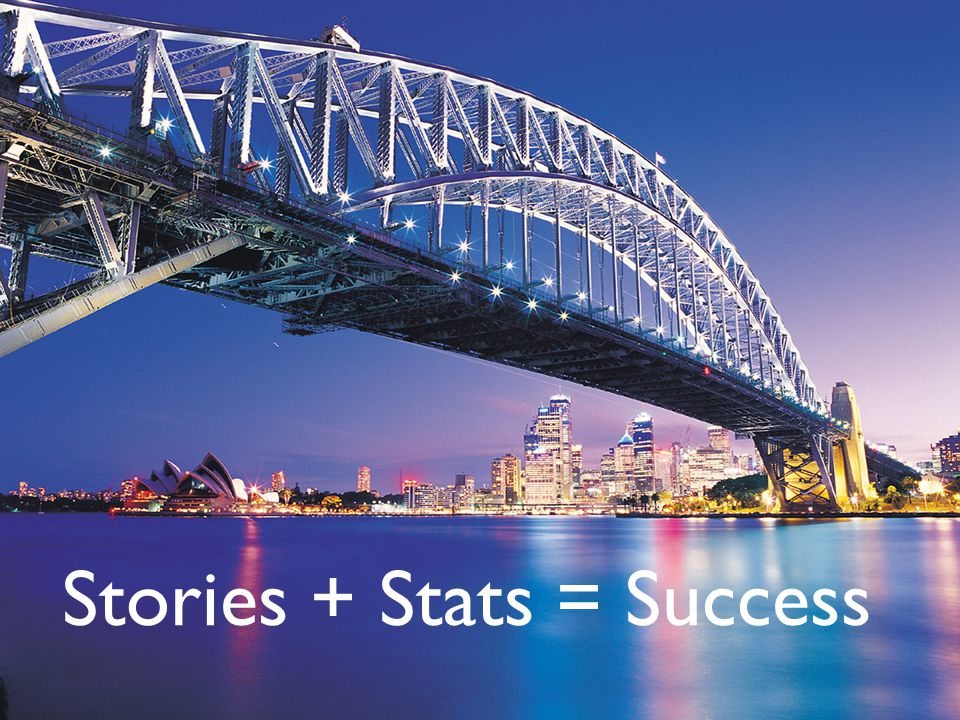 Stories + Stats = Success
