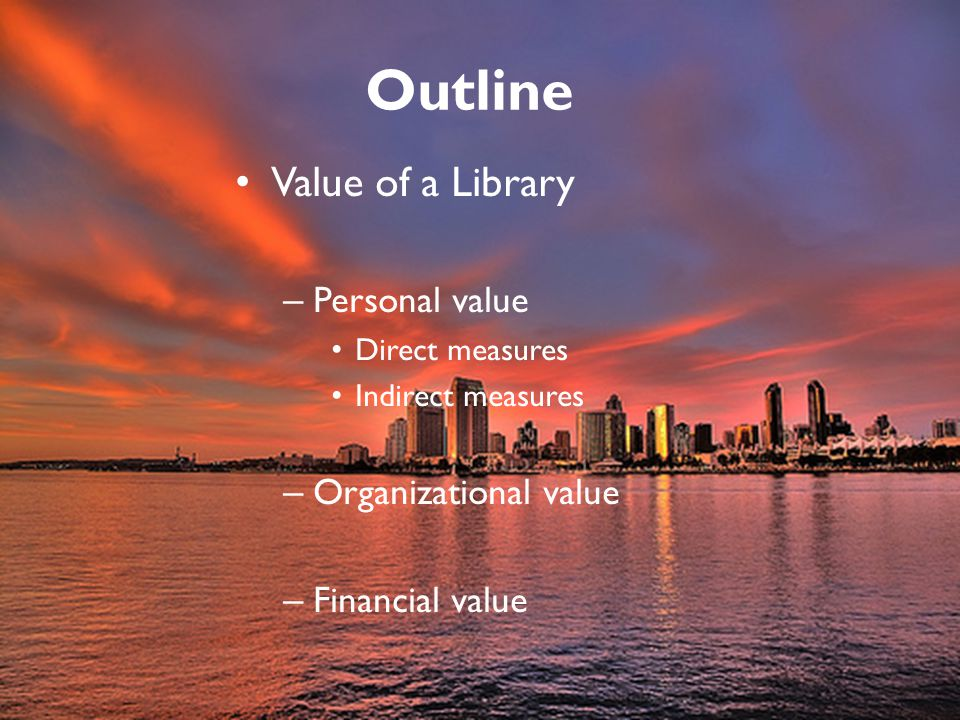 Valuable is not about our professional values; in the paradigm of the value of public libraries, we are the producers, not the consumers of services.