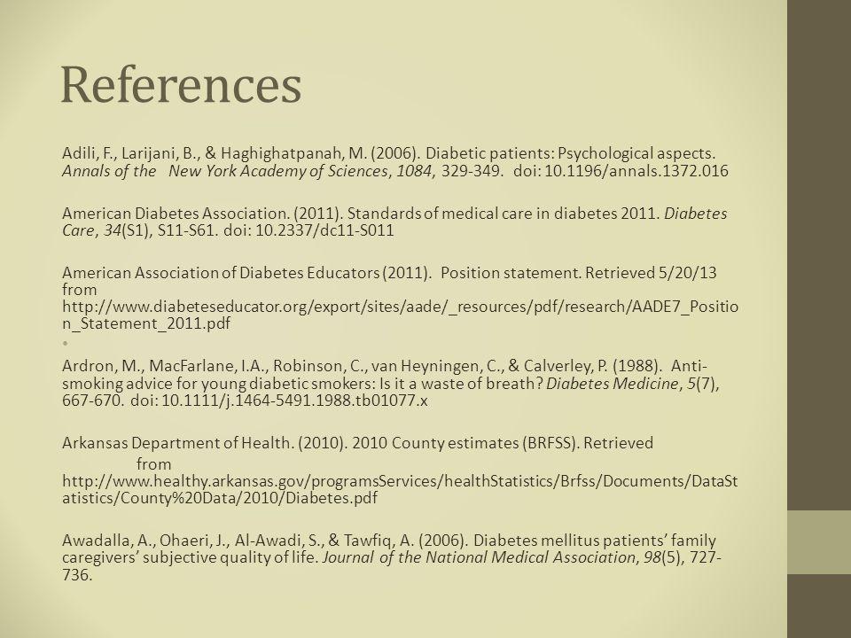 References Adili, F., Larijani, B., & Haghighatpanah, M.