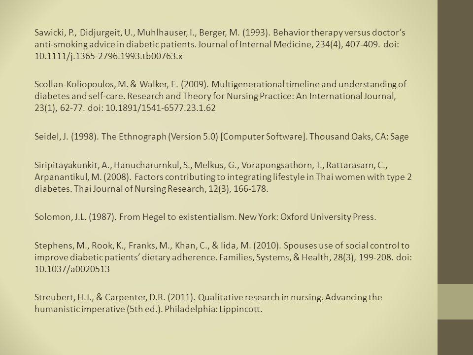Sawicki, P., Didjurgeit, U., Muhlhauser, I., Berger, M.