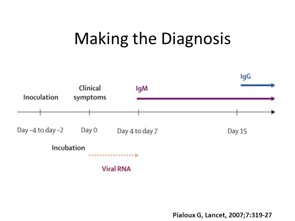 Pialoux G, Lancet, 2007;7:319-27 Making the Diagnosis