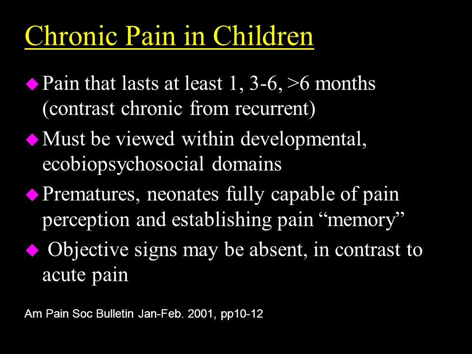 Screening for Neuropathic Pain Give one point each, if yes, for: Give one point each, if yes, for: 1.