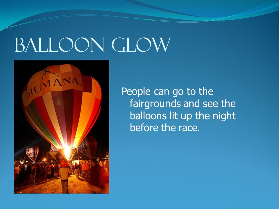 The hot air balloon race starts at the Kentucky State Fairgrounds in Louisville.