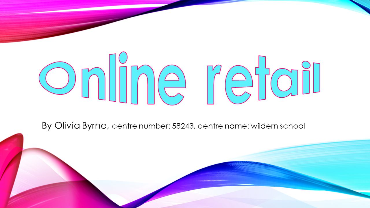 By Olivia Byrne, centre number: 58243, centre name: wildern school