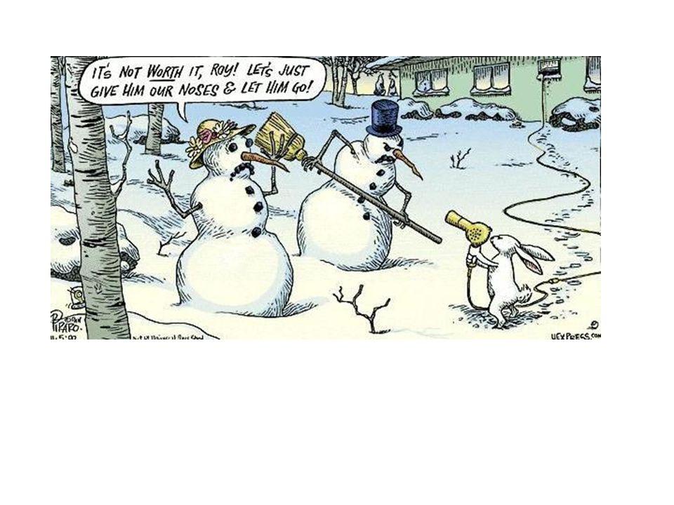 Snowman Stick-up